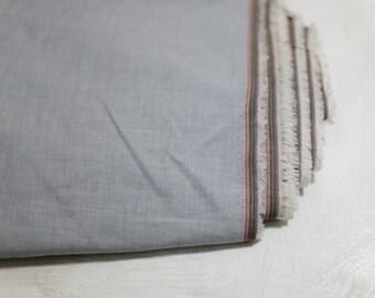 """6 usd/yard 59"""" wide yarn dyed 100% Cotton poplin Fabric Yardage by the yard Medium weight blue Fabric"""