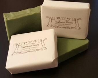 Pistachio & Magnolia- Handmade Soap with Shea and Cocoa Butter