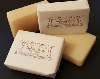 Milk & Honey- Handmade Soap with Shea and Cocoa Butter