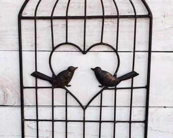 Bird, Birds, Bird Cage, Wall Decor, Love Birds, Hook, Hooks, Organize