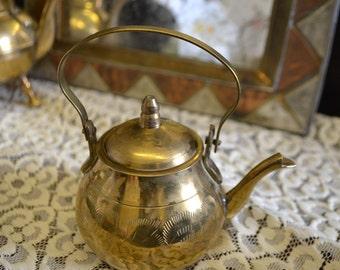 Decorative Brass Teapot