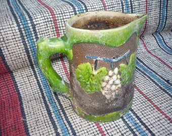 Old ceramic handmade Cup from 1910's
