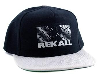 Total Recall: Rekall  Movie Snapback Cap