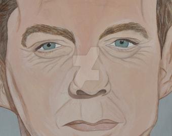 Kiefer Sutherland Portrait Print