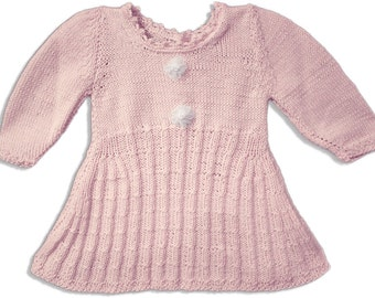 Girl dress baby wool