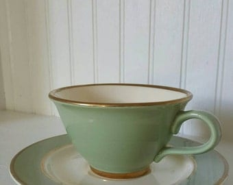 Taylor Smith and Taylor Classic Heritage Green Tea Cup and Saucer