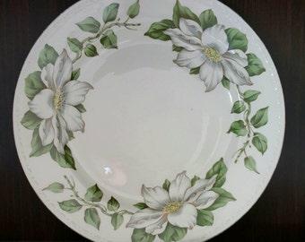 """Homer Laughlin Eggshell Georgian Cotillion 10"""" Dinner Plate"""