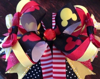Mickey Mouse Over The Top Bow