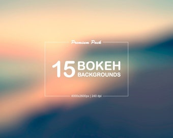 15 Dreamy Bokeh Backgrounds