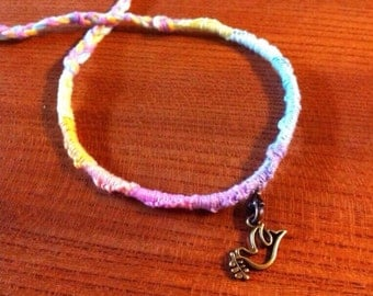 Dove of Peace friendship bracelet