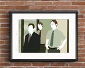 The Office Poster - Michael, Jim, & Dwight Print