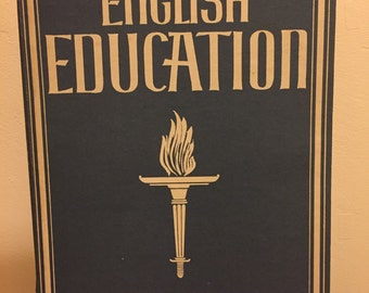 Hardback iPad mini/tablet case - English Education by Kenneth Lindsay (1941.)
