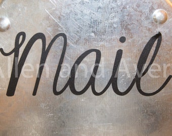 Mail decal