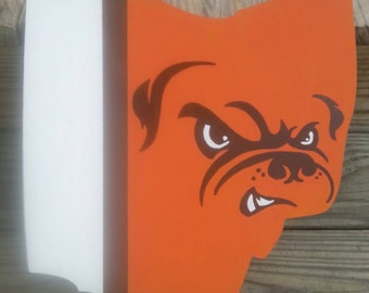 Cleveland Browns Logo Ohio Wall Art