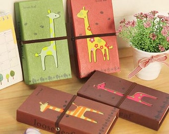 Cute Giraffe Notepad