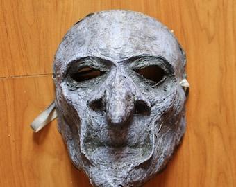 Witch Mask | Paper Mache | Costume