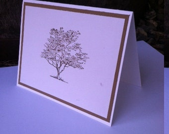 Tree Stationary Set, Nature lover, Stationary set,