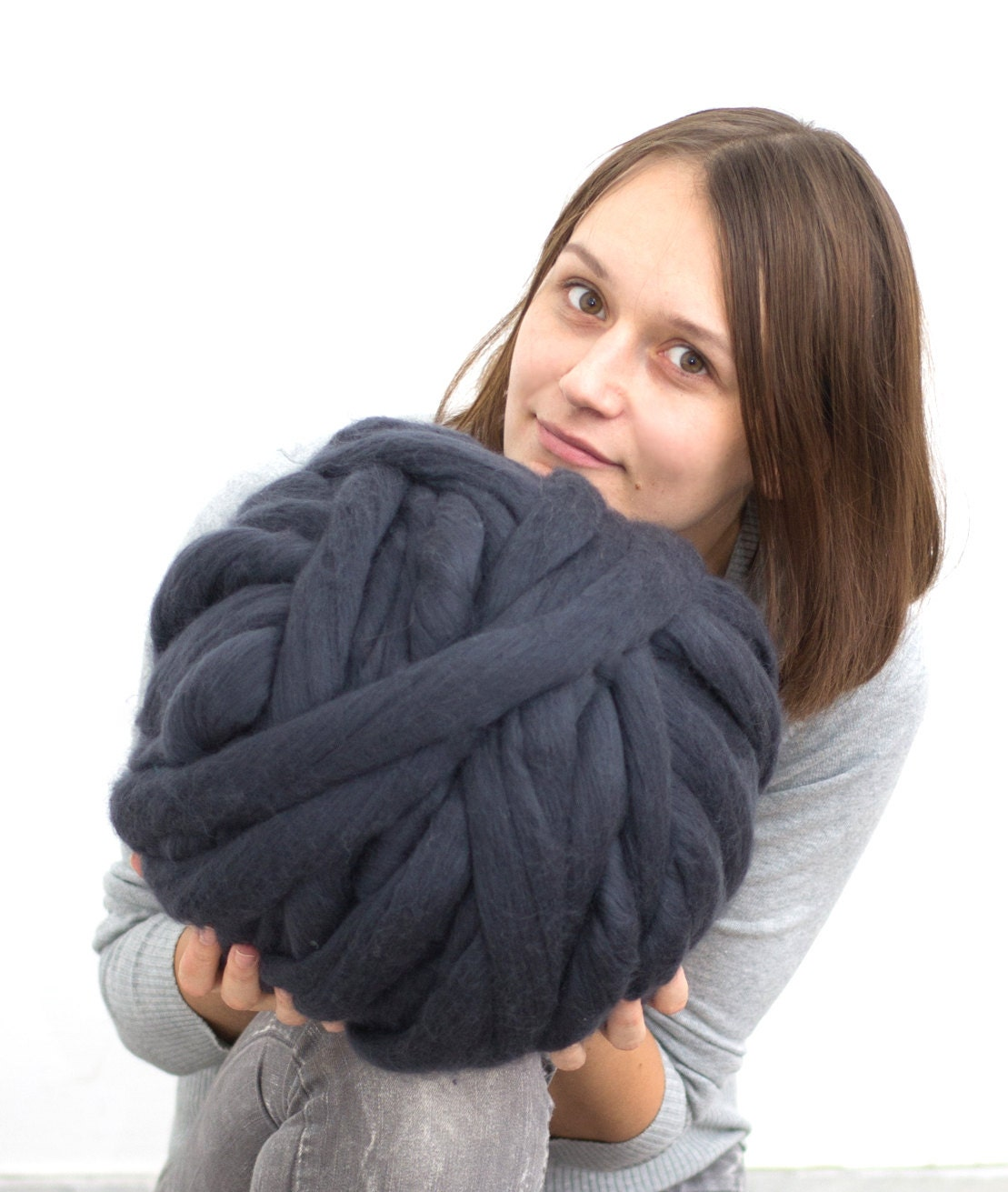 Chunky yarn merino wool yarn big yarn bulky yarn 18 by bloisem