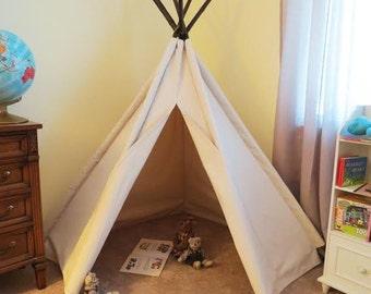 5' Corner Canvas Tepee Tent