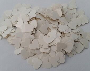 500 Wedding Heart Confetti