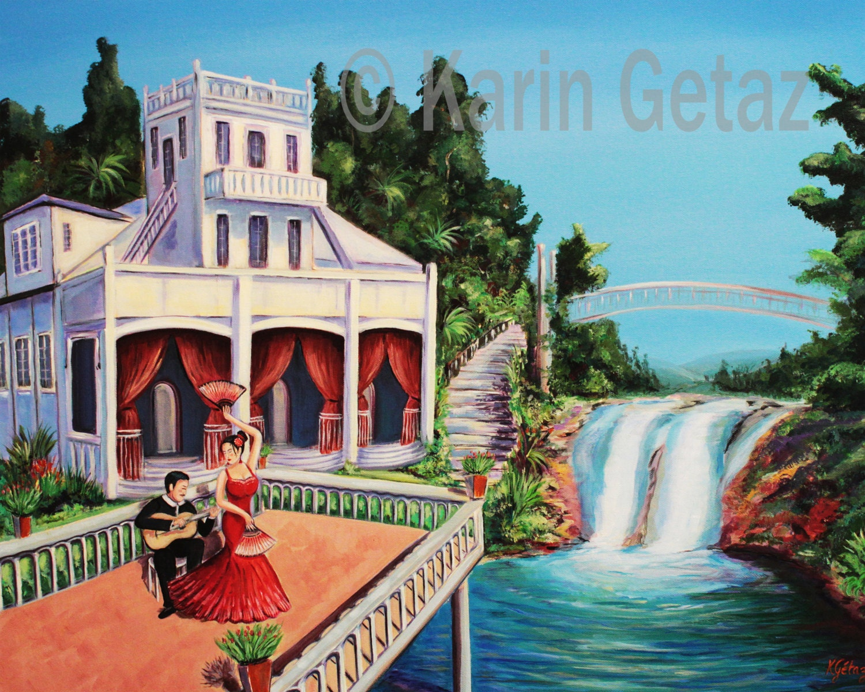 wall art print tropical art print queensland art australian