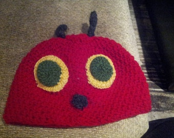 Crochet Very Hungry Caterpillar Beanie