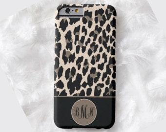 LEOPARD Monogram Cell Phone Case, iPhone 6 case, Note 4 case, leopard phone case, iPhone 6 plus cell phone case, iPhone 6 plus case, S6 #651