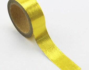 Foil Tape, Gold, 15mm x 5m