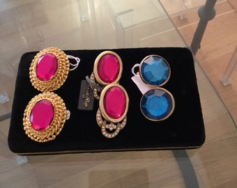 Lot 3 pairs of earrings