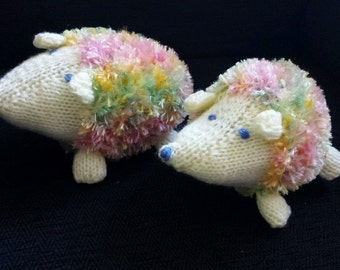 New Hand Made At Penybont Stores Hedgehog The Ice Cream Hedgehog Vanilla Pastel