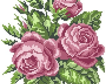 Embroidery Design Roses 2