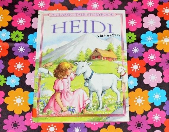 Heidi  clásicos infantiles  A cuento clásico libro de