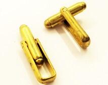 10 Pcs (5 Pairs ) Raw Brass Mens Cufflink Backs