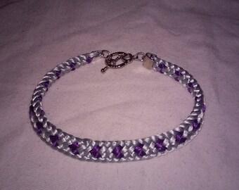 Hearts hearts hearts!! Kumihimo bracelets
