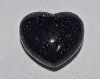 Blue Goldstone Hearts