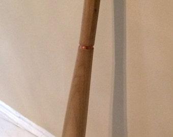 Hand-carved Baseball Bat