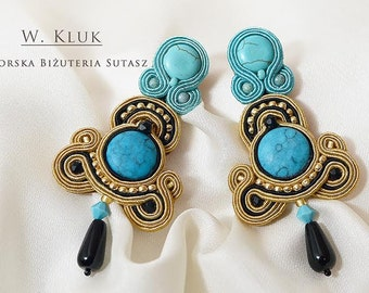 Exceptional soutache earrings