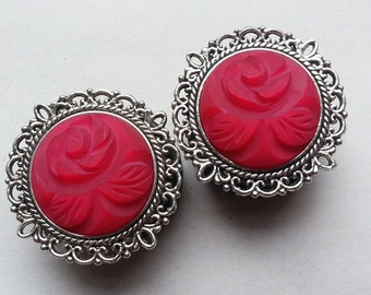 Silver Pink romantic of Rose plugs