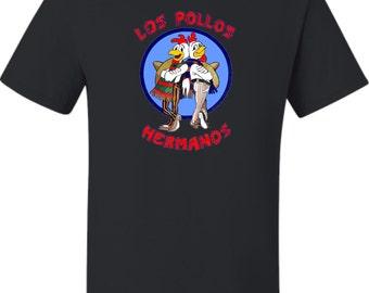 Adult Los Pollos Hermanos Breaking Bad Inspired T-Shirt