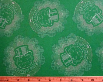 Monoploy Mr. Banker Green Fabric