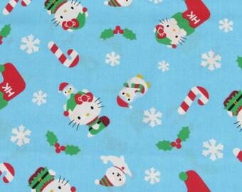 Hello Kitty Christmas Fabric