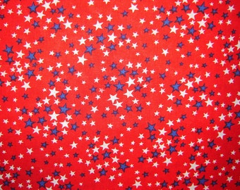 Forth of July Stars RedFabric