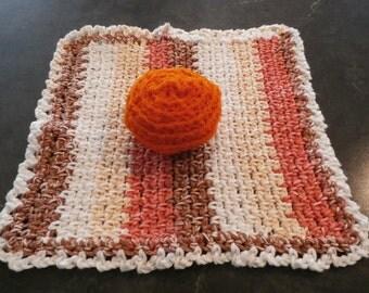 Hand Crocheted Dish Set 7