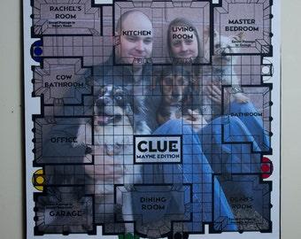 Custom Clue Game