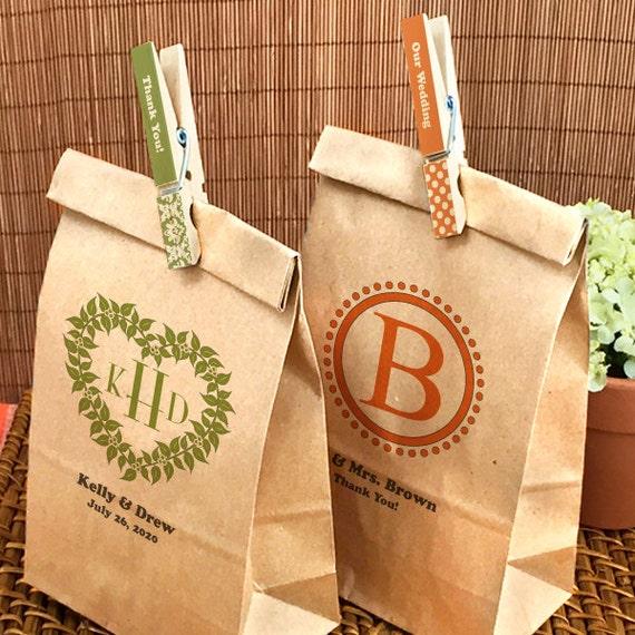 Custom paper bag favors