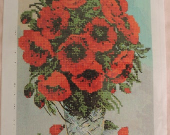 """The scheme for embroidery """"Poppies"""""""