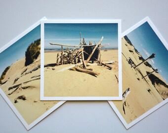 Siuslaw Jetty Beach set of 3