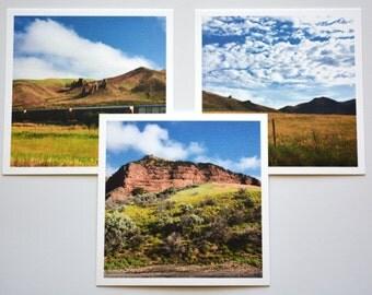 Western Landscape set of 3