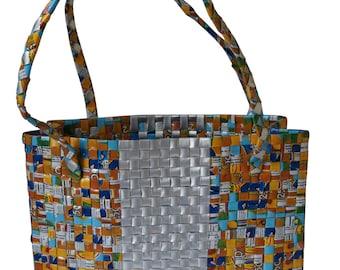 Recycled Juice Box Handbag
