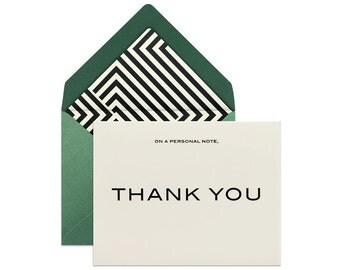 THANK YOU Card | THANKS Card | Thank You Card For Men | Minimalist Thank You Card | Simple Thank You Card | Best Man Cards | Groomsmen Card